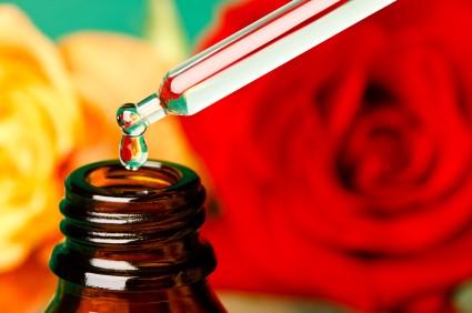 Rose oil aromatherapy